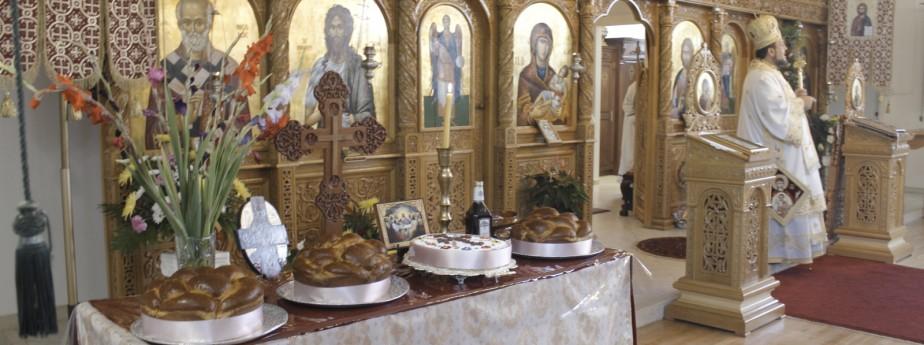 Invitatie la Hram - Duminica 16 Septembrie
